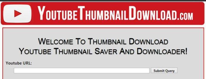 Youtube Thumbnail Saver