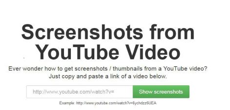 Youtube screenshot lets you Grab YouTube Thumbnails Quickly