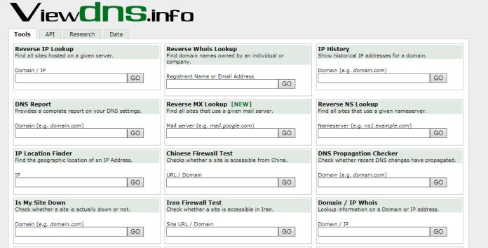 View DNS Propagation Checking Tool