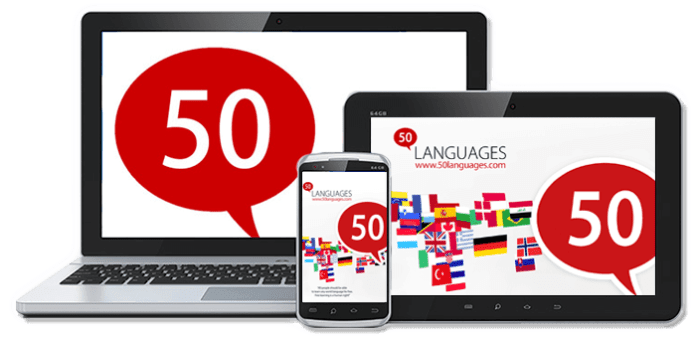 Learn 50 languages Offline