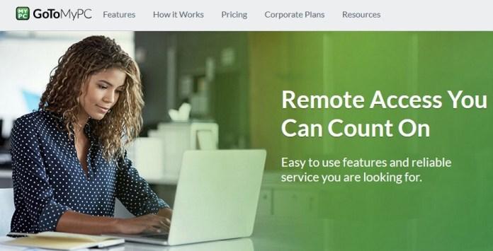 GoToMyPC remote utility software