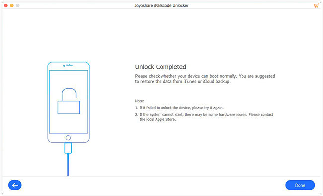 Joyoshare iPasscode Unlocker Tutorials
