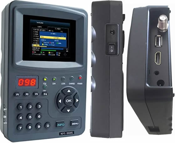 KPT-968G HD Satellite Finder
