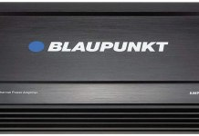 Blaupunkt 1600W 4-Channel