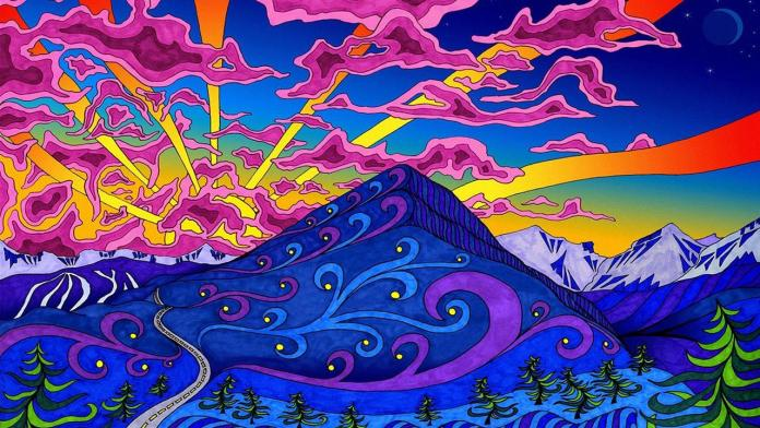 Trippy Moutain Top