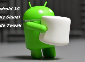 3g only mode tweak and apps method for Android devices