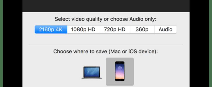 Softorino YouTube Downloader for Mac