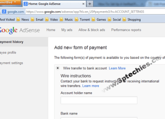 banks in nigeria that pays your adsense earning to saving account
