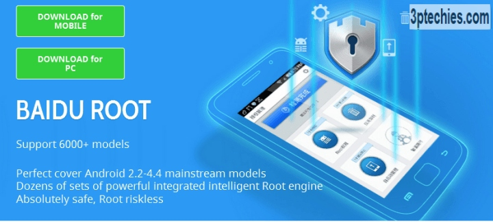 how to root android without pc: baidu root method