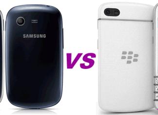 Samsung galaxy star vs blackberry q10
