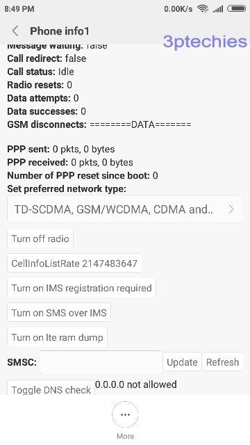 how to settings 3g only mode on xiaomi redmi devices