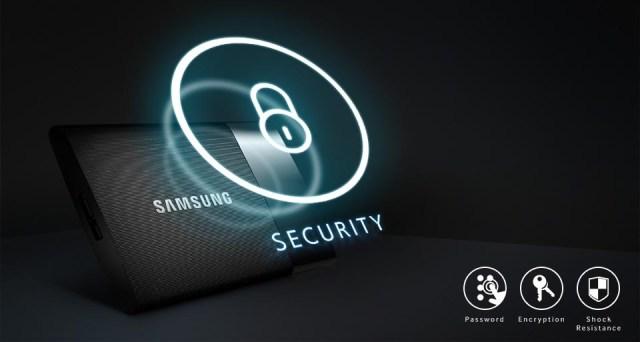 Samsung Portable SSD T1