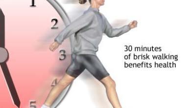 الفوائد الصحية العامة للمشي