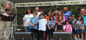 May 10, 2015 Santa Monica.  Mayor Kevin McKeown awards McKinley volunteers.