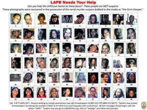 "Photographs found in the possession of serial murder suspect Lonnie David Franklin Jr., dubbed the ""Grim Sleeper"", recovered by the Los Angeles Police Department (LAPD) are seen in this handout image released December 16, 2010. REUTERS/Los Angeles Police Department/Handout"