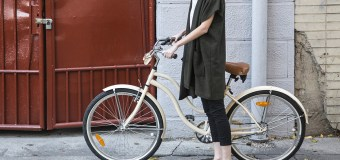 Save the earth and look good while commuting to work on your bike