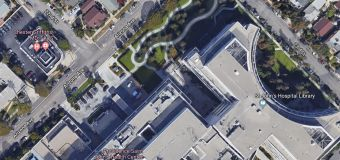 Should the City create pedestrian crosswalks on Arizona near St. John's Hospital?