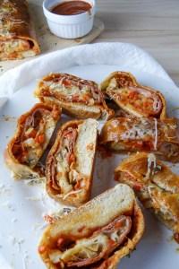 quick & easy italian stromboli
