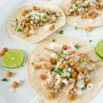 Tasty Chicken Street Tacos with Chickpeas