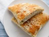 chicken, artichoke, and 3 cheese calzones
