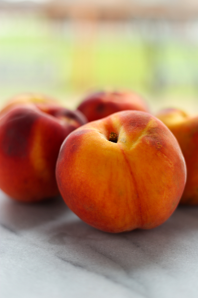 Colorado peach crisp