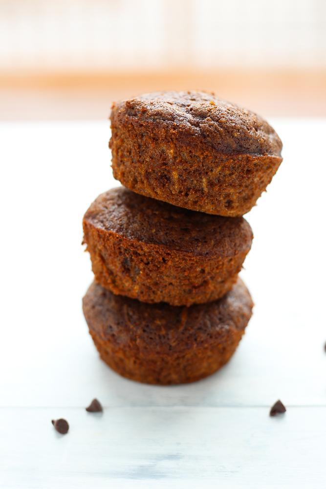 best chocolate zucchini muffins