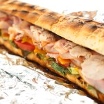 Ham & Turkey Grilled French Bread Sandwiches