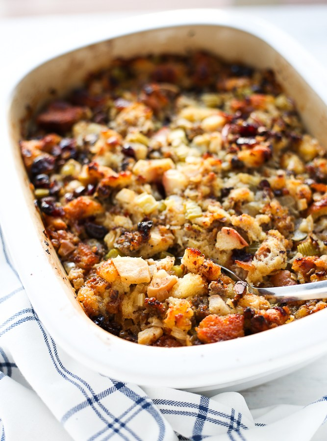 all decked out thanksgiving stuffing