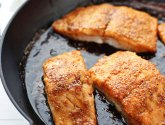 Honey Glazed Salmon with Flax Seed