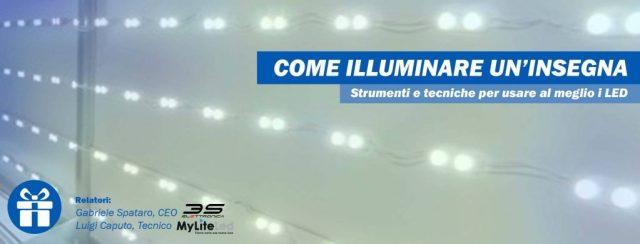 Come illuminare un'insegna - Strumenti e tecniche per usare al meglio i LED