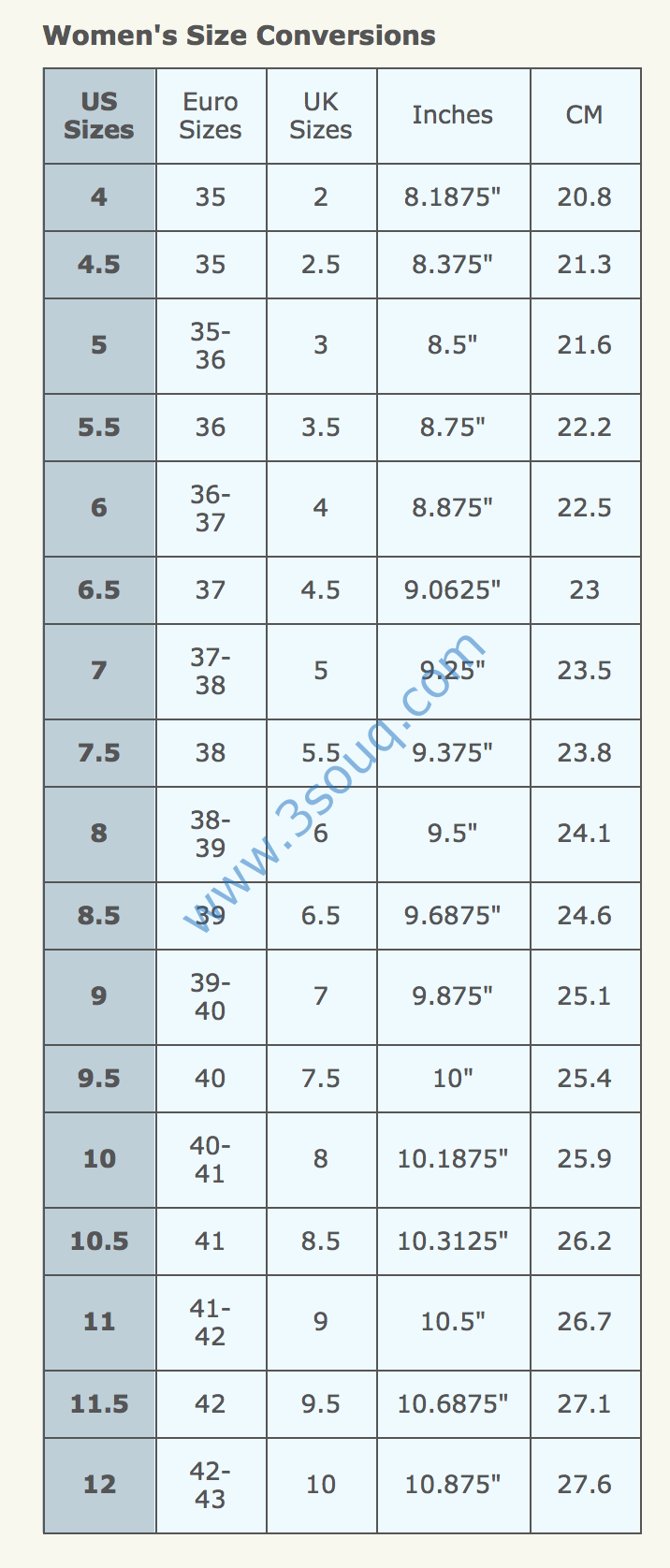 3f6fc5a0c كيف تختار المقاس الصحيح للحذاء ؟ ( ستة خطوات ) – التسوق الالكتروني