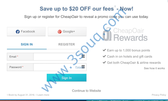 How To Use CheapOair Promo Codes: