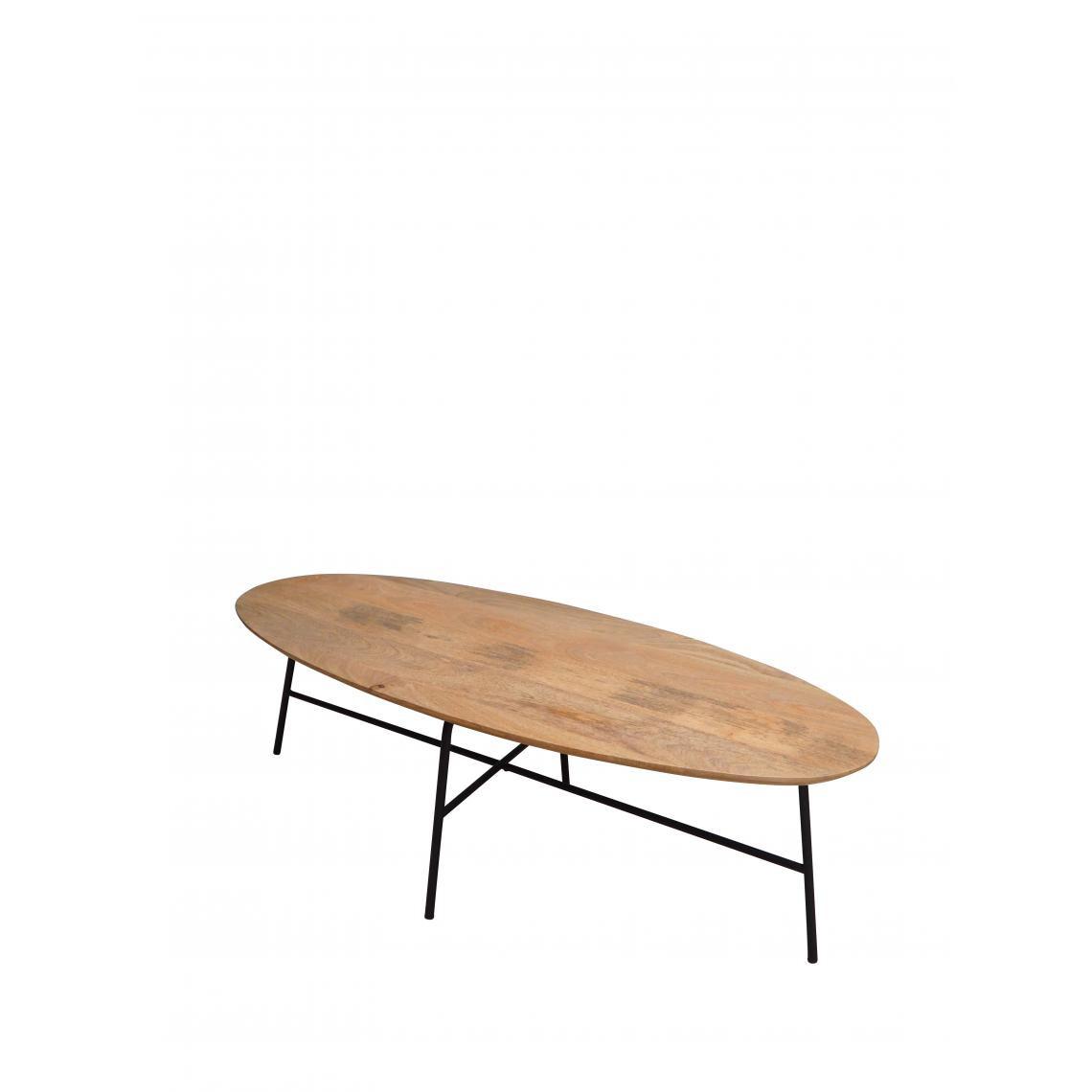 table basse ovale ellen