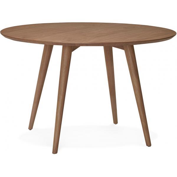 table a manger ronde bois noisette d120 ruffy