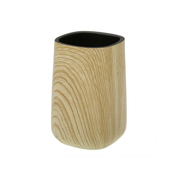 Porte Brosse A Dents Bambou Arya 3 Suisses