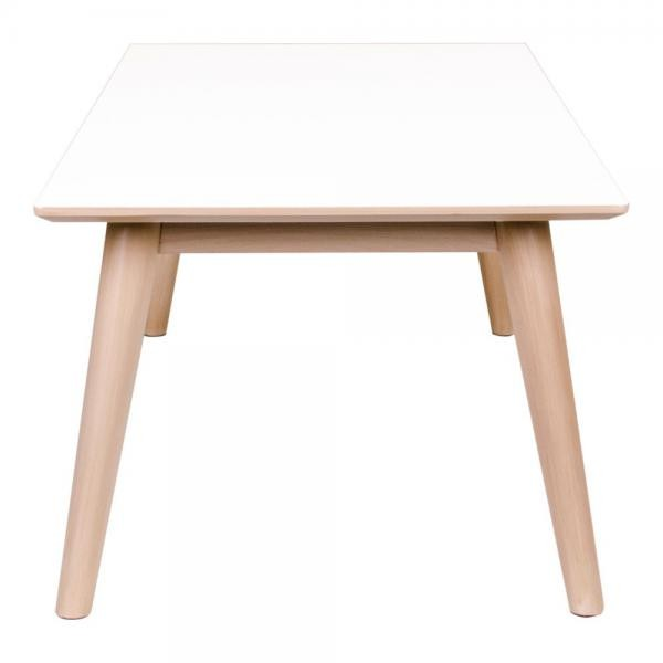 table basse scandinave blanche lone