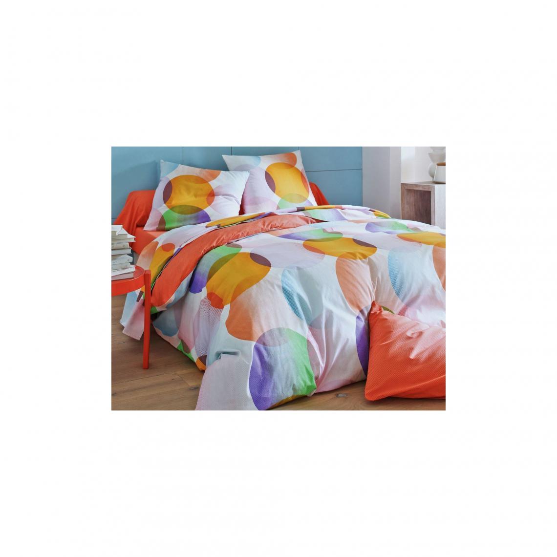 Housse De Couette Imprime Disques Multicolore 3 Suisses