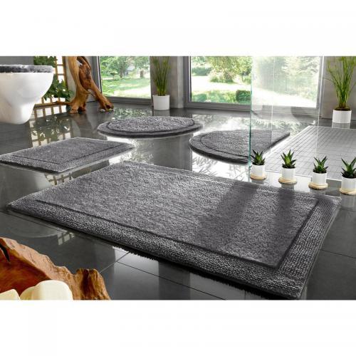 ecorepublic home tapis de bain coton bio uni 2100gm2 kapra ecorepublic home gris