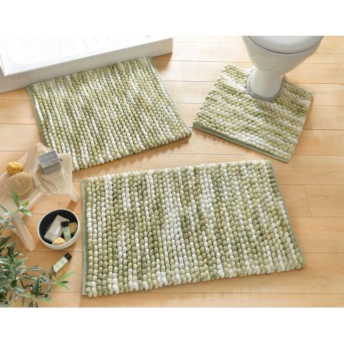becquet tapis de bain microfibre 1800g m2 vert