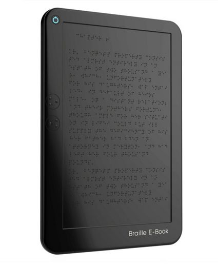 Polimeri elettroattivi per ebook reader Braille destinati ai non vedenti