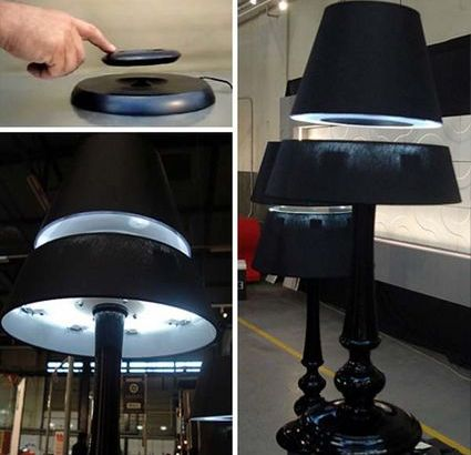 LOS: le lampade fluttuanti a mezz'aria