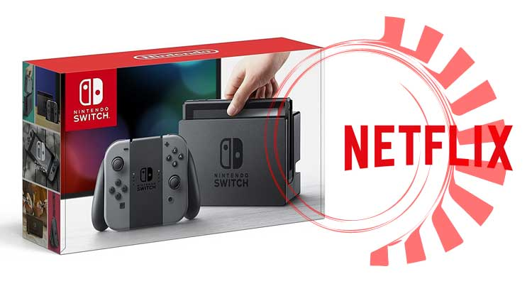 Netflix Nintendo Switch: software già presente ma non abilitato