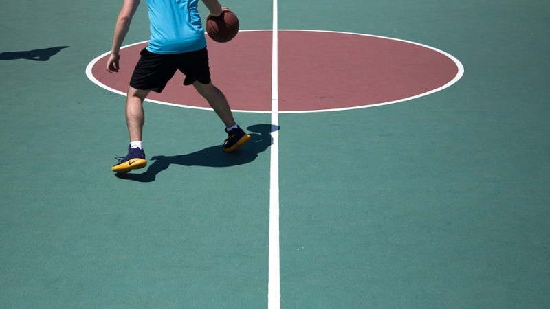 basketball playing shoes