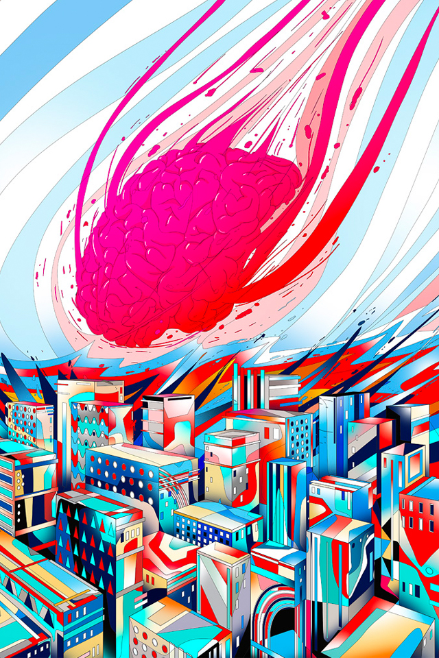 cerveau Brain in the City
