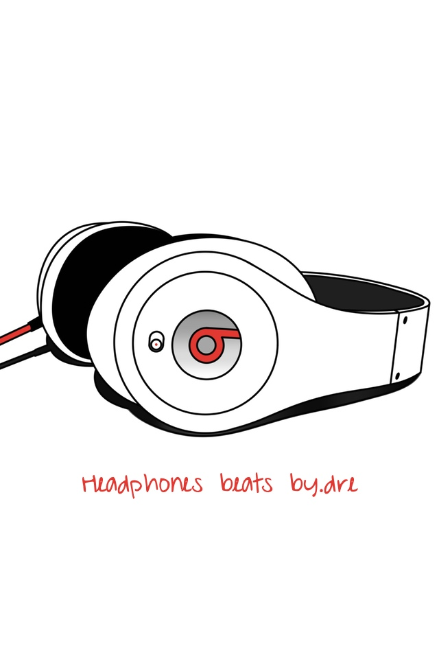 Headphones Beats By.Dre 3W Headphones Beats By.Dre