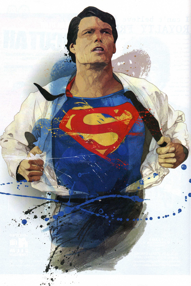 Reeve as Superman 3Wallpapers Reeve as Superman