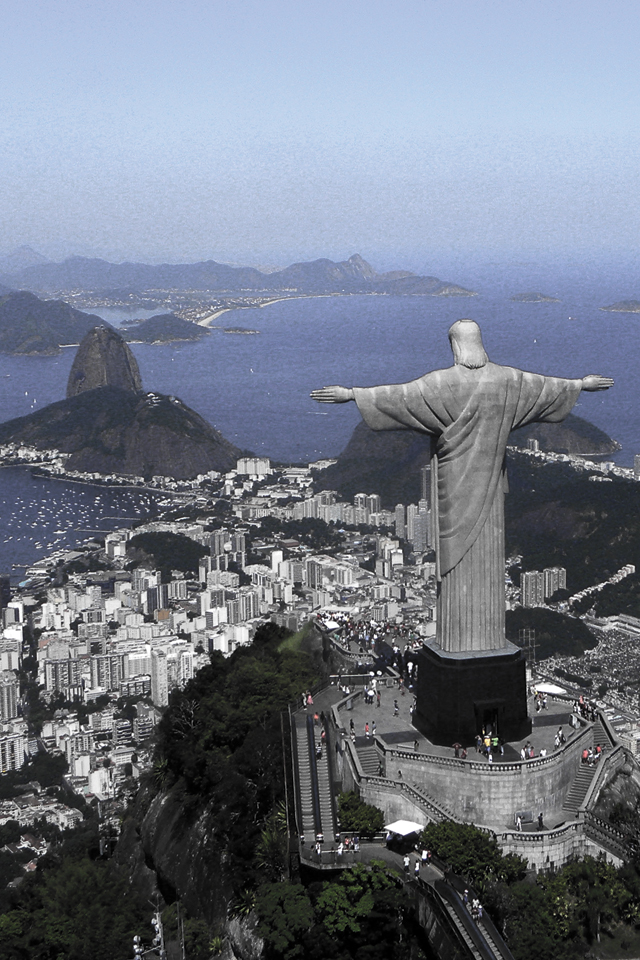 Christ on Corcovado Mountain 3Wallpapers Christ on Corcovado Mountain