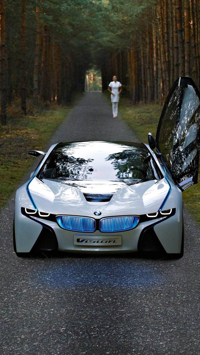 BMW Vision Efficient 3Wallpapers iPhone 5 BMW Vision Efficient