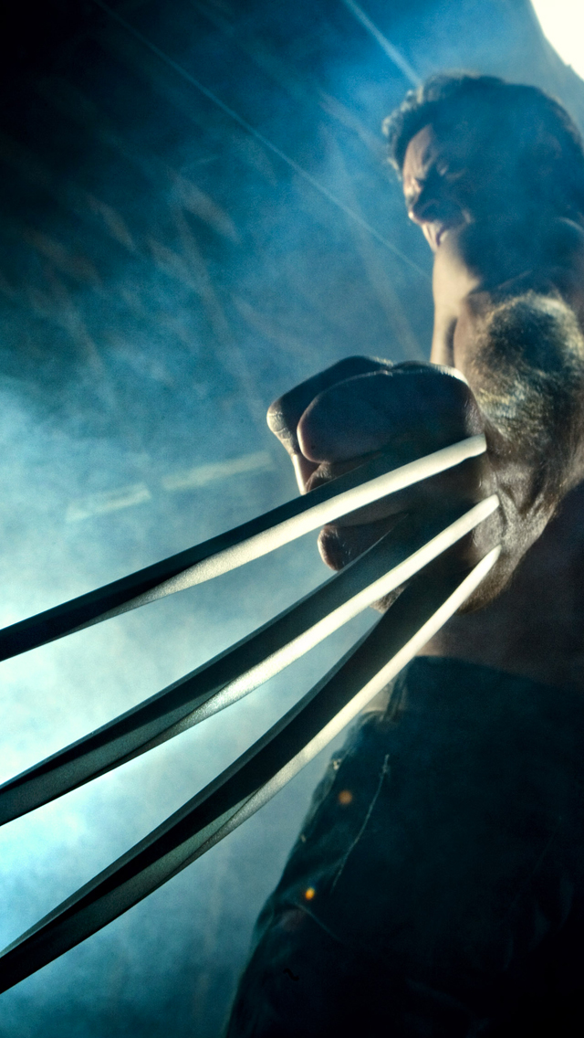 X Men Wolverine 3Wallpapers iPhone 5 X Men Wolverine