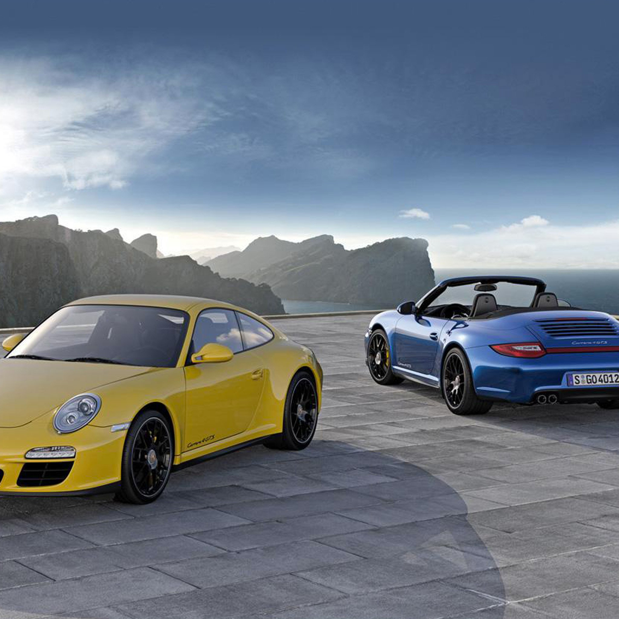 Porsche 911 Carrera 4 Gts 3Wallpapers iPad Retina Porsche 911 Carrera 4 Gts   iPad Retina